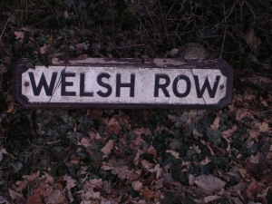 Welsh Row, named for the miners who came to work in the Alderley Edge mines
