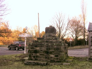 The ancient village cross of Nether Alderely is a Scheduled monument and stands on the A34 at the junction of Artists Lane and Welsh Row.  It reminds us that the area's rich history started long before the arrival of the railways.